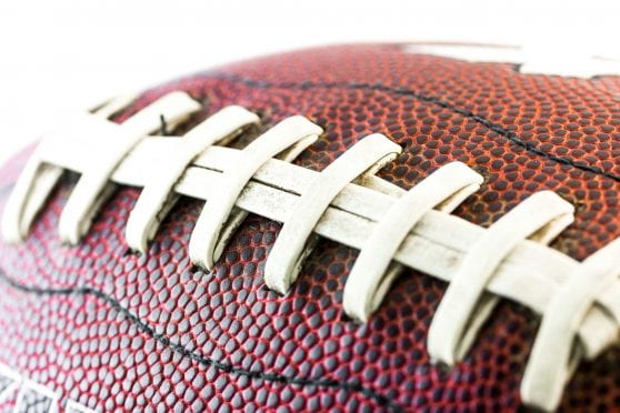 Close-up of football.
