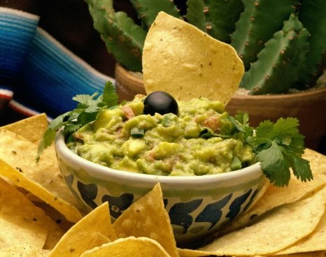 Don't forget the guacamole!