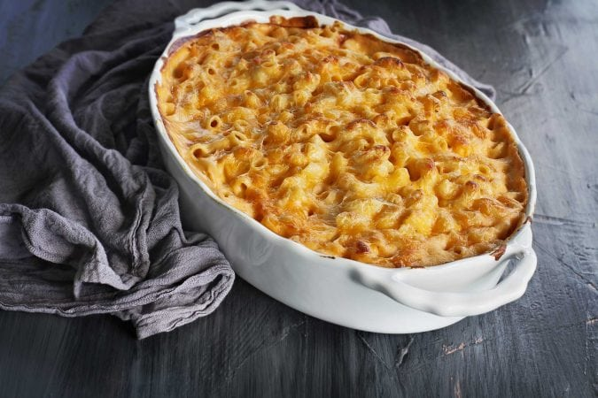Mac and cheese.