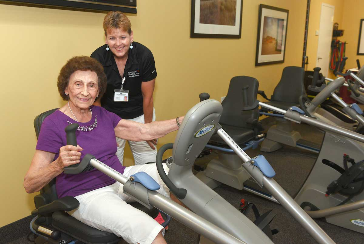 A new look fitness center at mulberry gardens health news hub for Mulberry gardens southington ct