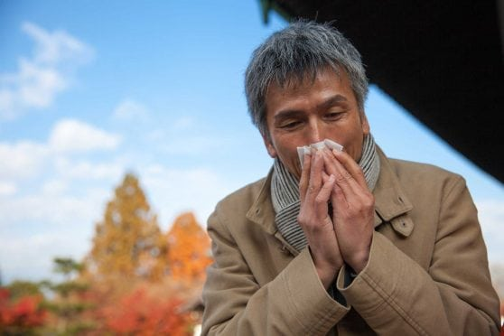 Fall allergies.