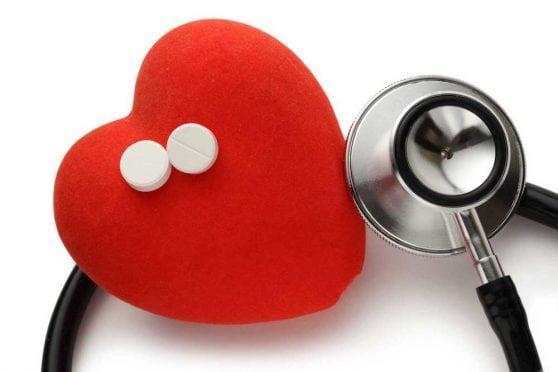 Heart & aspirin.