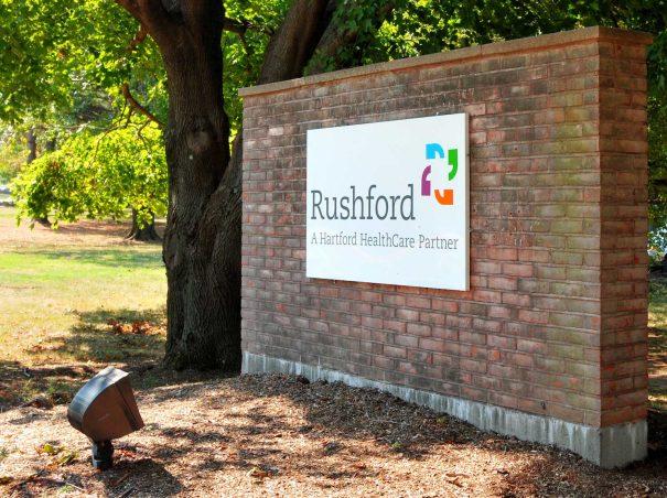 Rushford sign.