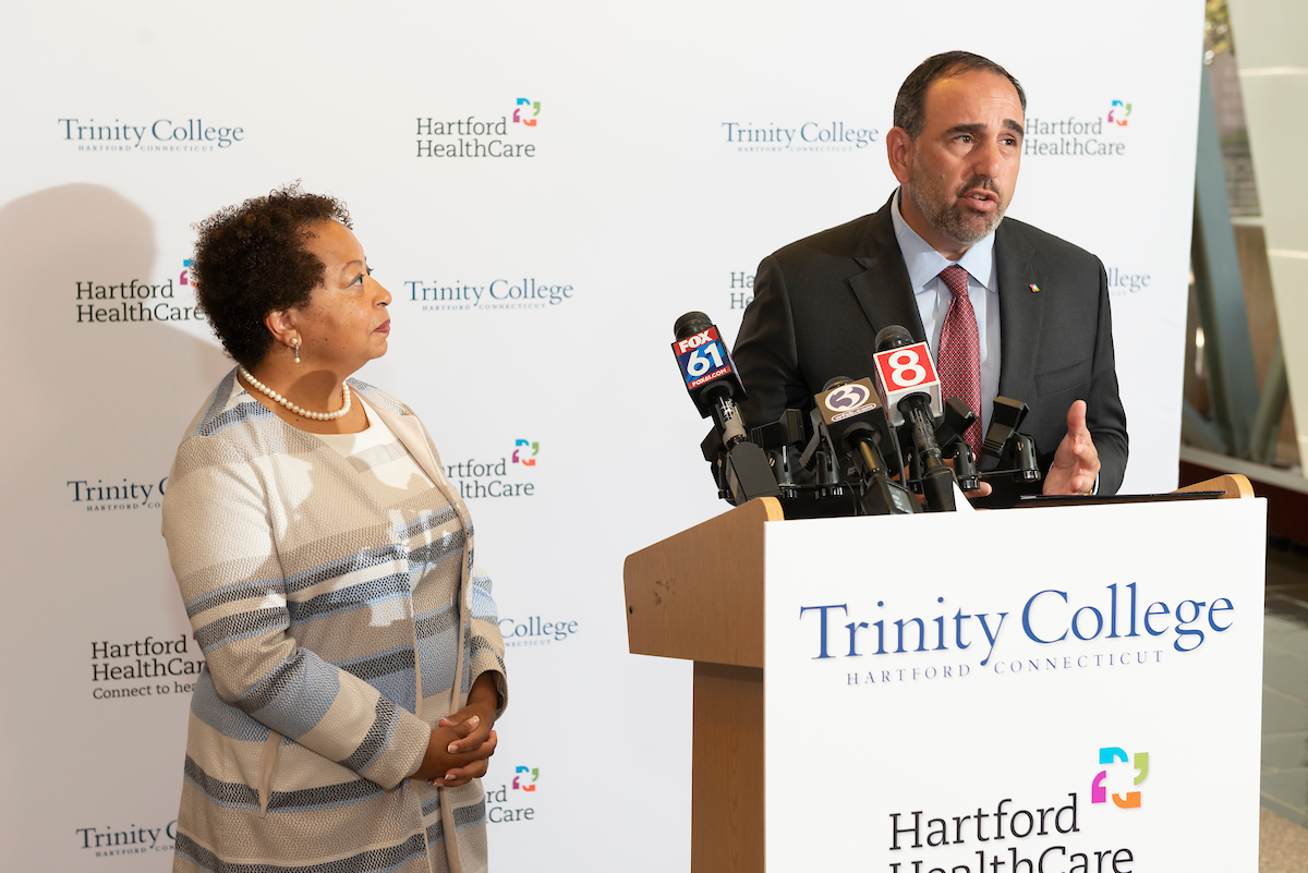 Hartford HealthCare and Trinity College Announce Major Partnership