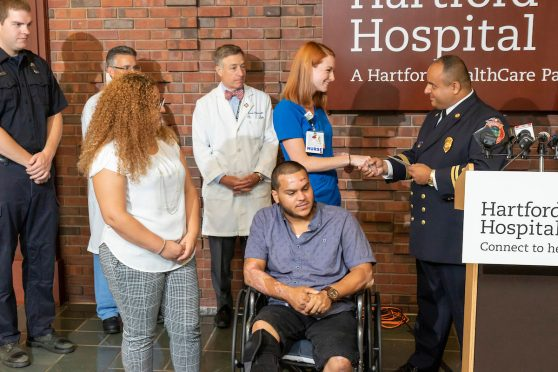 A Nurse Comes To Aid of Motorcycle Accident Victime