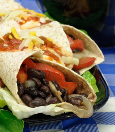 Black Bean Wrap