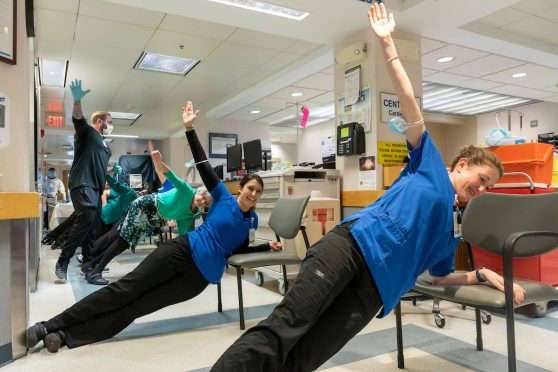 Nursing Staff Guided Fitness Routines