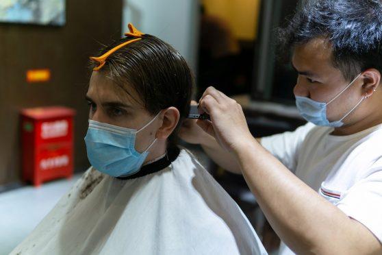 Haircut during COVID-19
