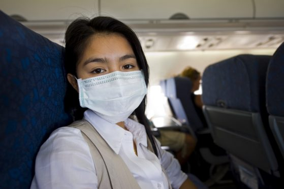 COVID-19 Risk On Plane