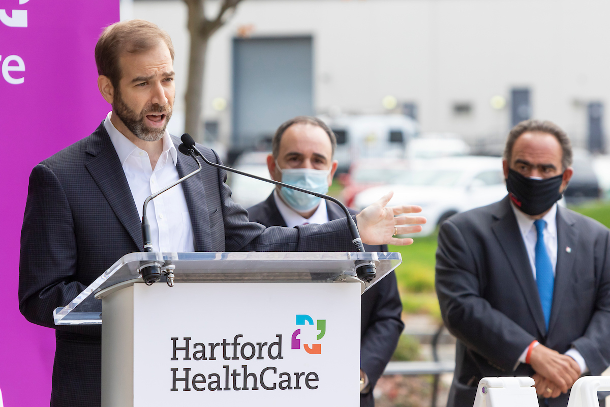 Hartford Hospital Shifting COVID-19 Test Site to Convention Center