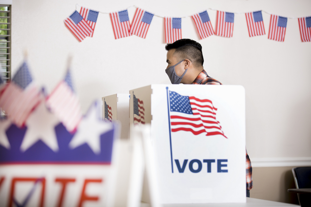 With Masks Not Mandatory In Polling Locations, Here's What to Expect