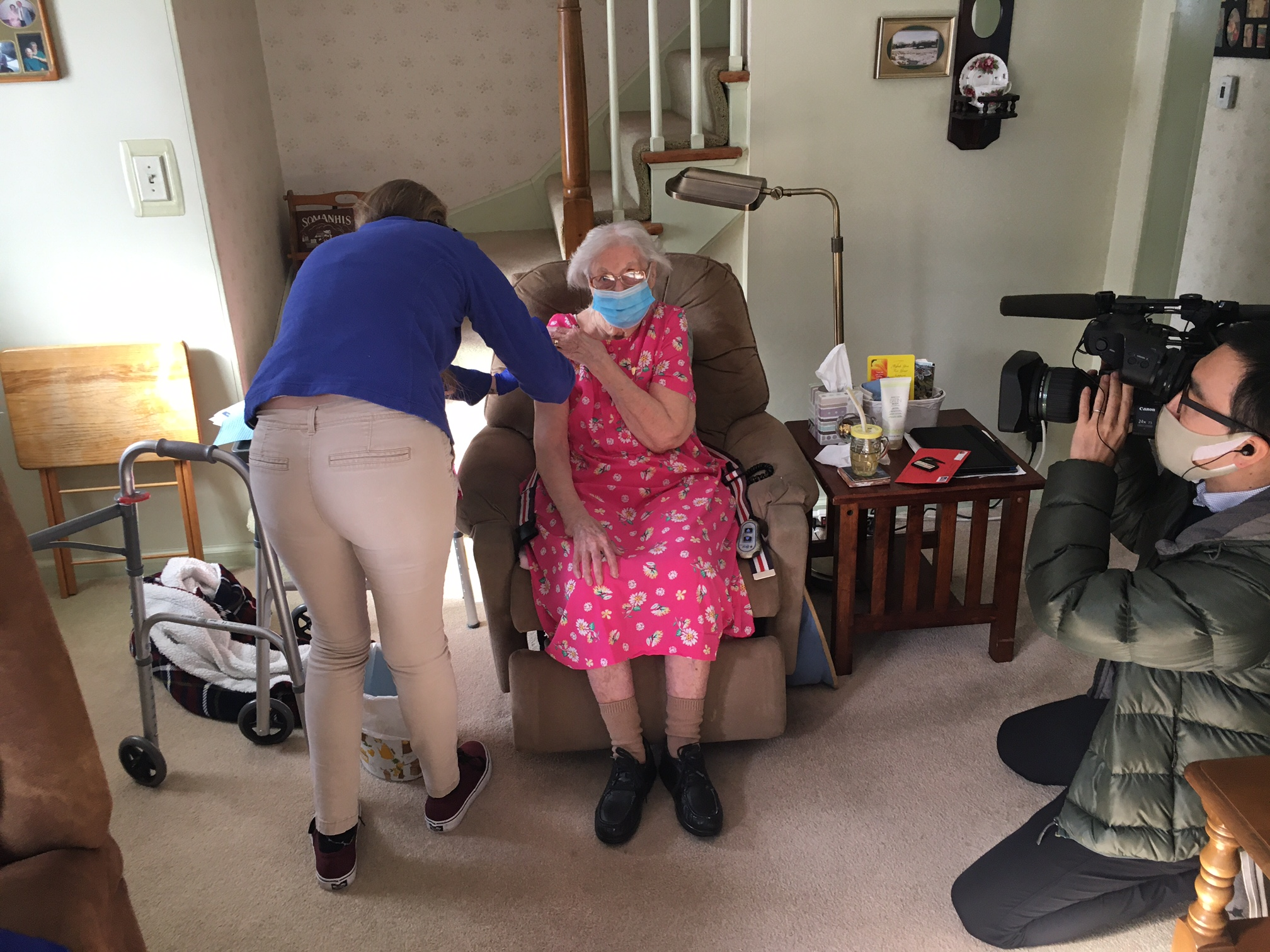 A Special House Call: Homebound Patients Get a COVID-19 Vaccine