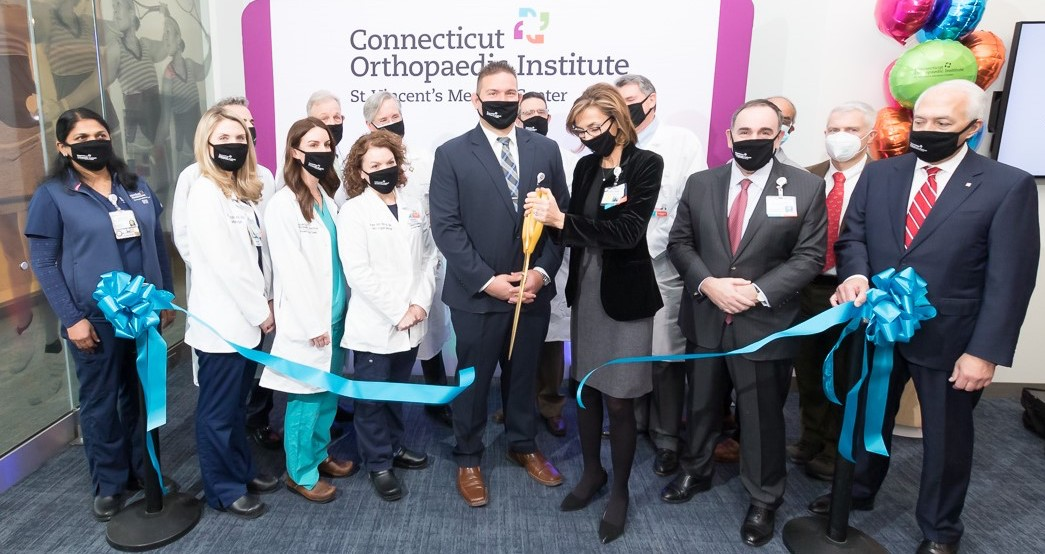 Connecticut Orthopaedic Institute Opening at St. Vincent's