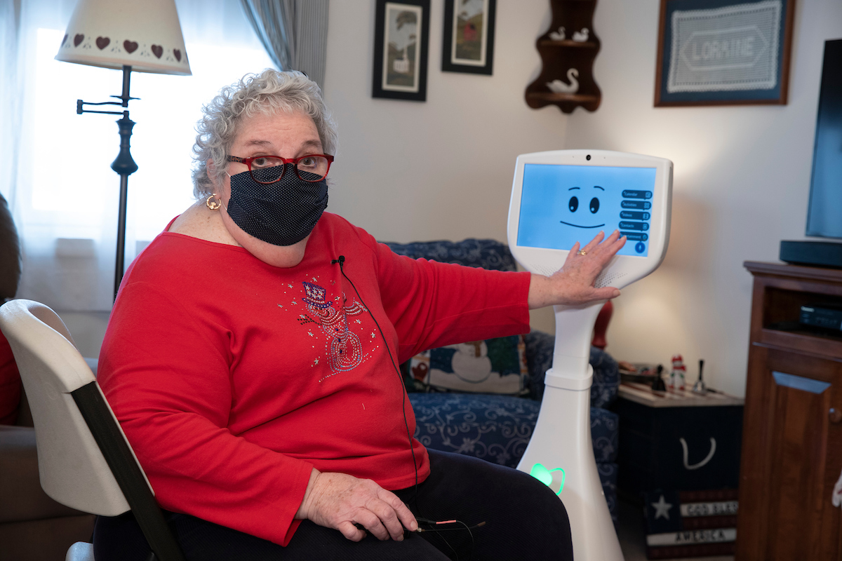 Hi Robot! This 'Cutii' is Helping Senior Citizens Stay Connected, Healthy During COVID