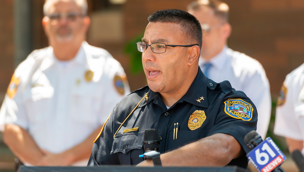 Rushford and Meriden Police Bring MORR Resources to Fight Opioid Epidemic